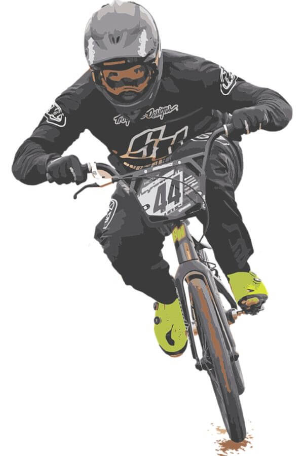 BMX Rider on a bike
